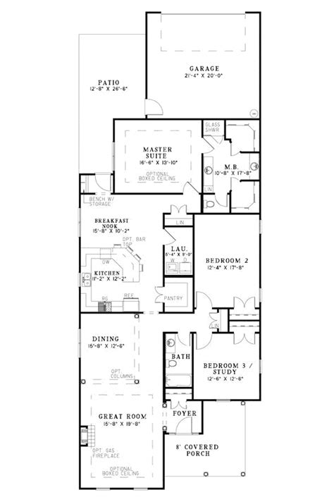 floor plans for narrow lots narrow house floor plans nurani org