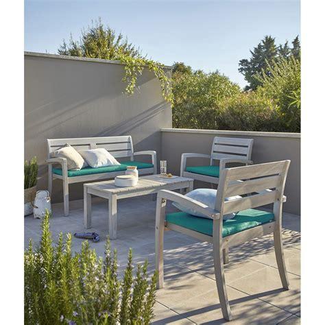 table de salon en bois salon de jardin portofino bois naturel 1 table 2