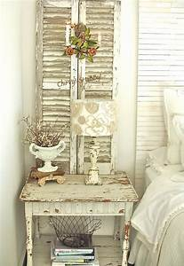 Shabby Chic Mode : 35 best shabby chic bedroom design and decor ideas for 2017 ~ Markanthonyermac.com Haus und Dekorationen