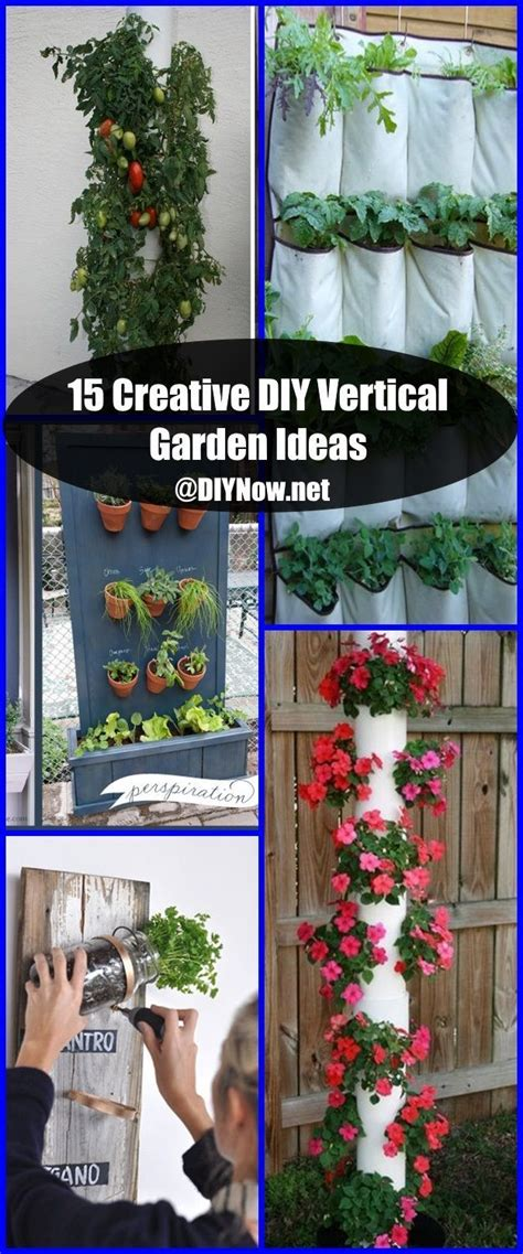 Vertical Garden Diy Ideas by 15 Creative Diy Vertical Garden Ideas Diynow Net