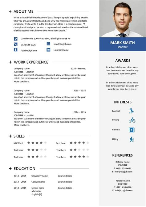 There's only one honest answer… it depends. Modern resume template 31