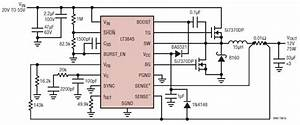 12 Volt Power Supply Circuit Diagram Using Lt3845