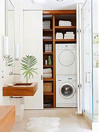 laundry closet ideas 10 Ideas for When Your Laundry Room is a Closet