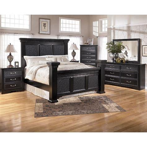 Mansion Bedroom Furniture by Cavallino Mansion Bedroom Set Signature Design By