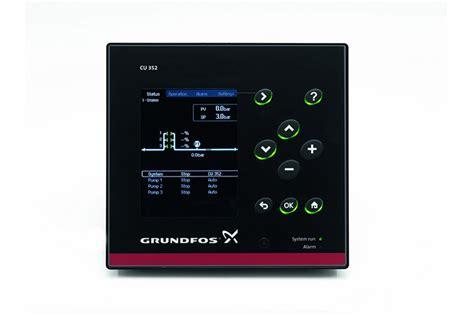 Grundfos CU352 Grundfos Dedicated Controls - BBC Pump and ...