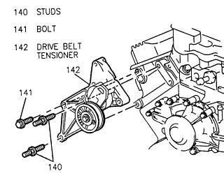 Diagram Of 2003 Buick Lesabre Alternator by Buick Lesabre Serpentine Belt