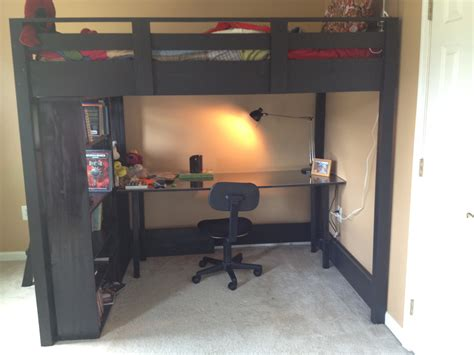 loft bed with desk full size mattress cool full size loft bed with desk designs ideas decofurnish