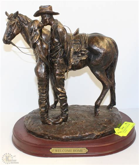Western Moments, Welcome Home Statue