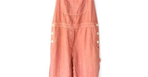 80s Dusty Pink Painters Overalls