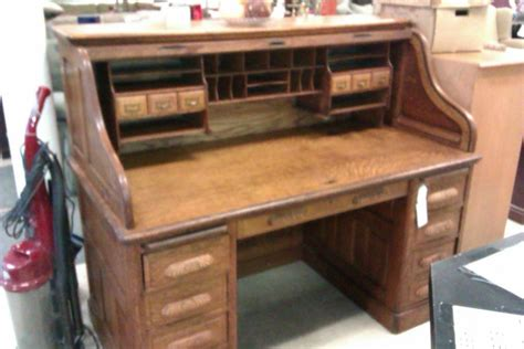 Ethan Allen Oak Roll Top Desk by I Have A Roll Top Desk The Used Furniture Store I Got It
