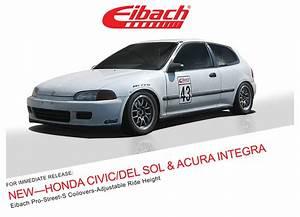 Eibach Pro Street S : product releases honda civic del sol pro street s ~ Jslefanu.com Haus und Dekorationen