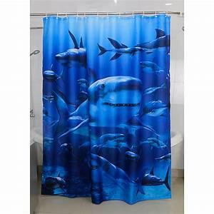 Duschvorhang 180 X 220 : venus textil duschvorhang hai 180 x 200 cm blau 3737 duschvorhaenge textil dadf ~ Eleganceandgraceweddings.com Haus und Dekorationen