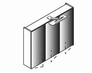 Küchenschrank Korpus Ohne Türen : lanzet spiegelschrank l2 leuchte 3 t ren korpus farbe eiche maron ~ Buech-reservation.com Haus und Dekorationen