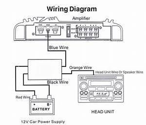 Car Wire Harness Audio Power Amplifier Time Delayer Wiring Diagram