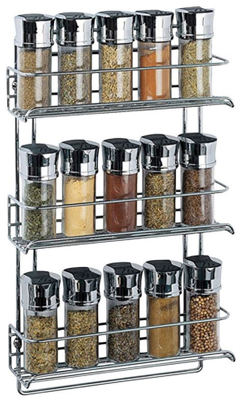 Modern Spice Racks Kitchen Modern Wire Stainless Steel