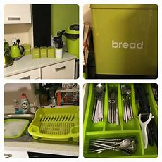 Lime Green Kitchen Accessories  In Stokeontrent