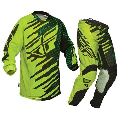 fly motocross jersey fly racing 2014 kinetic shock green mx enduro jersey