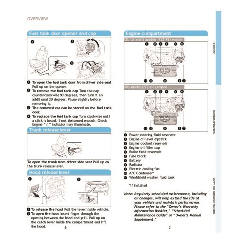 car service manuals pdf 2005 toyota camry instrument cluster 2005 toyota corolla quick reference manual