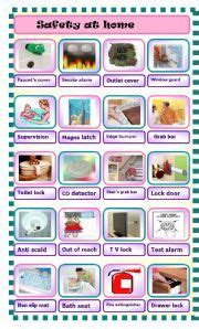 english worksheet safety  home  images home