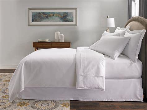 Hotel Stripe Bed & Bedding Set  Hilton To Home Hotel