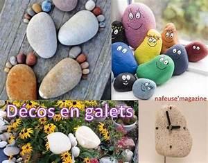 Galet De Decoration : exemples deco le serviettage de nafeuse ~ Premium-room.com Idées de Décoration
