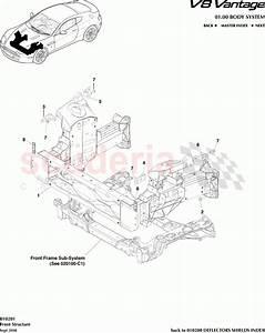 Aston Martin V8 Vantage Front Structure Parts