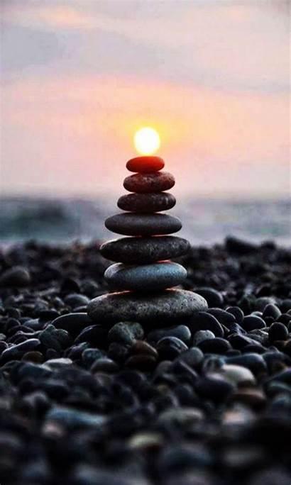 Zen Phone Iphone Stones Lock Smart Wallpapers