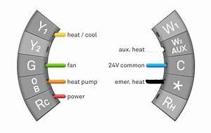 Heat Pump Wiring Diagram For Nest
