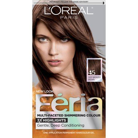 loreal feria hair color chart l oreal feria multi faceted shimmering color