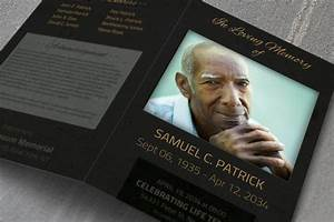 Best Brochure Software Funeral Template Bifold Brochure Templates Creative