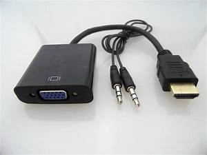 Hot New Hdmi To Vga Data Cable With Audio Cable Video