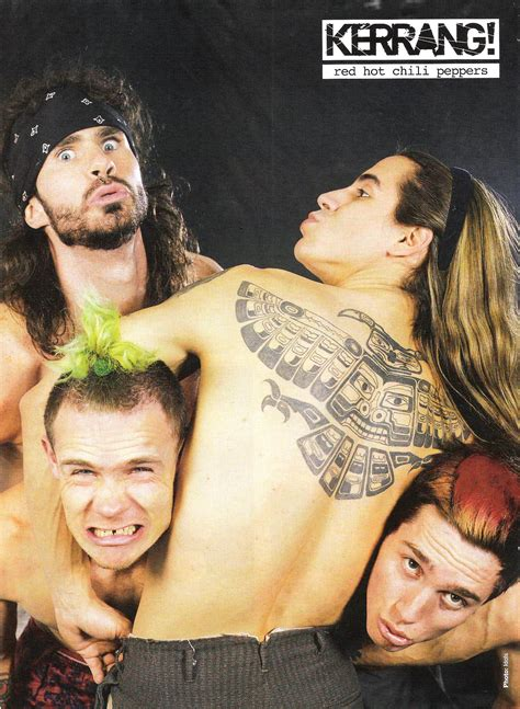 Miscellaneous Magazine Posters Red Hot Chili Peppers