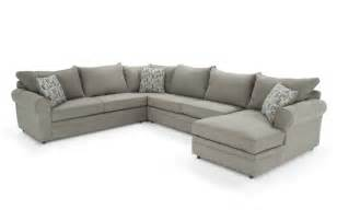 4 piece sectional bob s furniture living room pinterest