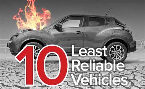 top   unreliable cars  short list autoguide