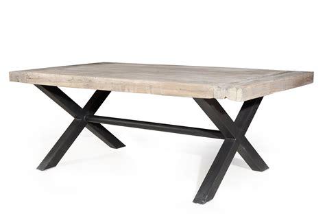 table de cuisine en fer forgé table fer forge bois 28 images table style industriel