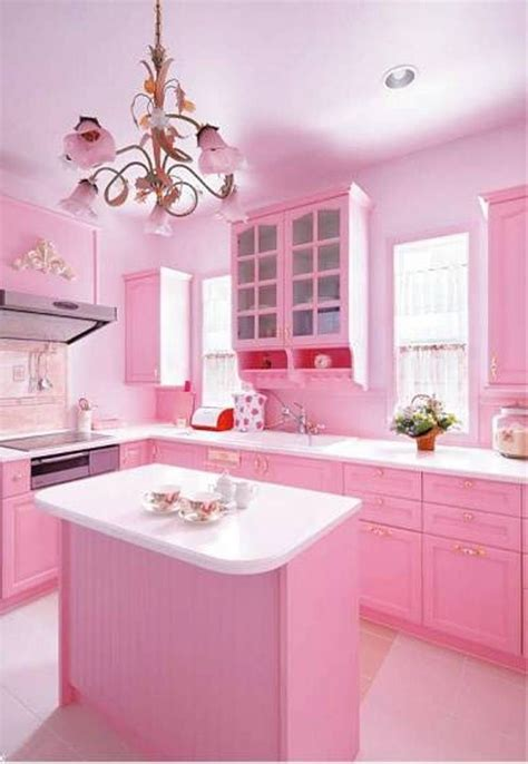 Pink Kitchen Decor  Awesome And Best Home Decorating