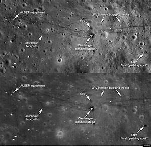 Apollo Moon Landing Sites (page 2) - Pics about space