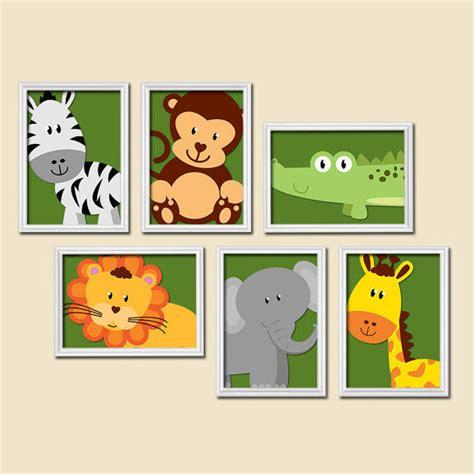 boy animal nursery boy animal wall from trm design