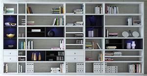 Regalwand Mit Türen : wohnzimmer regalwand system wei ~ Michelbontemps.com Haus und Dekorationen