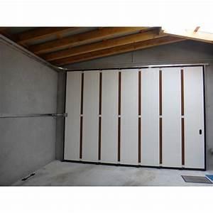 Porte de garage coulissante sans ecoincon travaux et for Porte de garage coulissante et porte maison