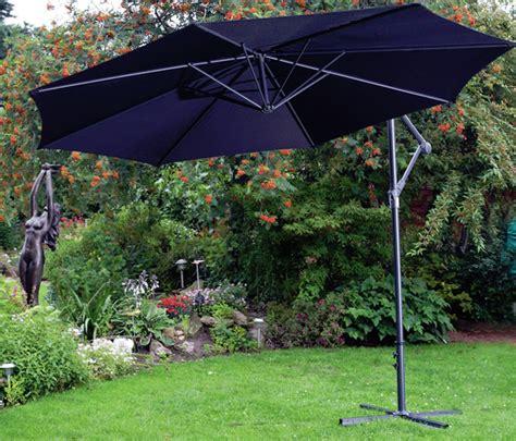 free standing garden parasols 3 metre banana cantilever parasol 3m garden umbrella free standing sun shade new