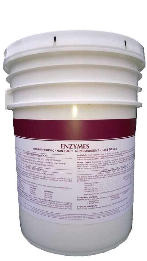 enzymes powdered grease trap odor control bacterial