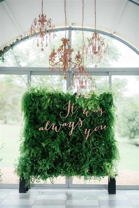 15 Gorgeous Indoor Wedding Backdrops To Try Crazyforus