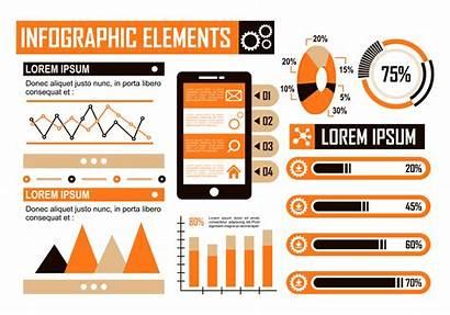 Infographic Vector Orange Elements Vecteezy Edit Graphics