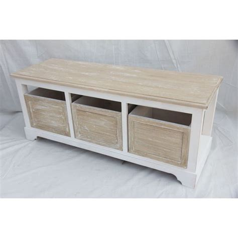 shabby chic storage bench seat shabby chic hallway bench antique storage box drawer entryway seat shoe cabinet in home