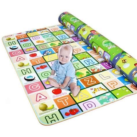 tapis de jeux pour bebe jeux et jouets tapis de plage rer mat haute qualit 233 de jeu pour b 233 b 233 tapis fruit