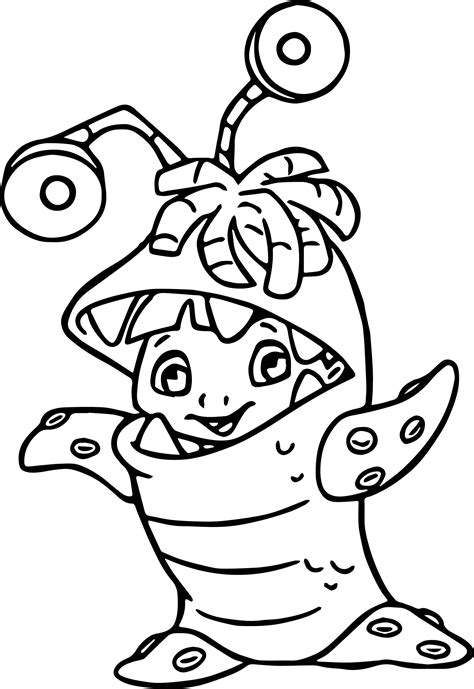 coloring boo inc coloring pages coloringsuite