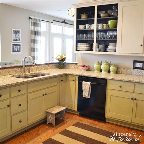 Painting Kitchen Cabinets With Chalk Paint Update