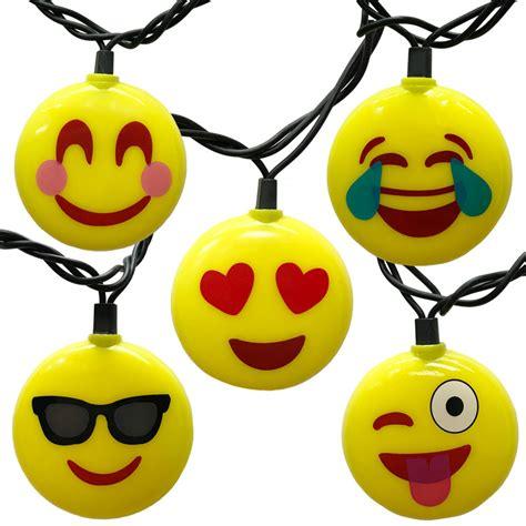 christmas lights emoji emoji icon novelty string lights