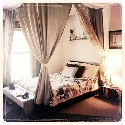 canopy bed drapery ideas 17 best ideas about canopy bed curtains on bed